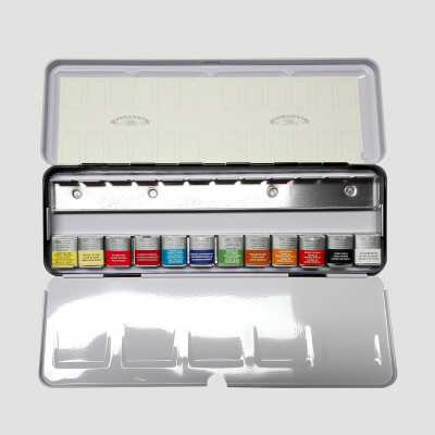 Professional Water Colour - Set 12 Mezzi Godet