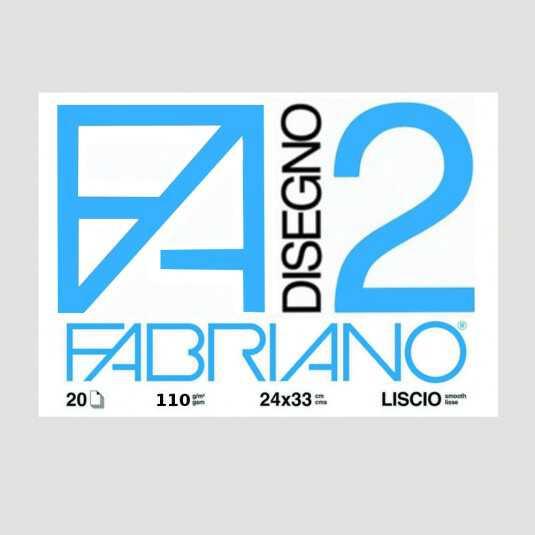 Blocco Fabriano 2 - 24x33cm con Angoli