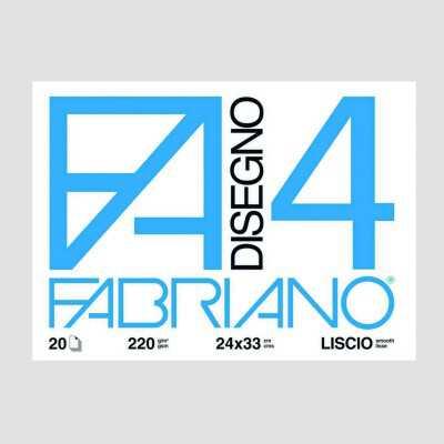 Blocco Fabriano 4 - 24x33cm con Angoli