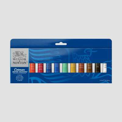 Acquerello Cotman Winsor&Newton - Set 10 Tubetti 8ml
