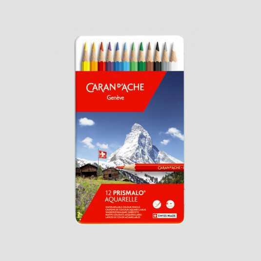 Confezione Matite Colorate Acquerellabili - Prismalo Caran d'Ache