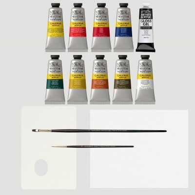 Acrilico Galeria Winsor&Newton - Set Completo