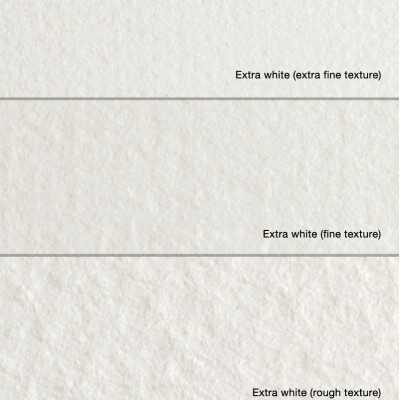 Blocco Fabriano Extra White - Grana Satinata da 300gr