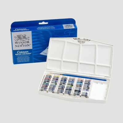 Cotman Painting Plus - Set 24 mezzi Godet