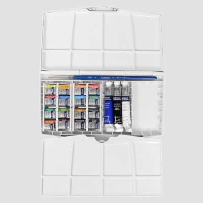 Cotman Painting Plus - Set 16 mezzi Godet