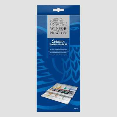 Confezione Acquerello Cotman - 45 Mezzi Godet Winsor&Newton
