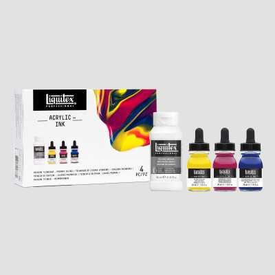 Acrilico Ink! - Tecnica Pouring Liquitex