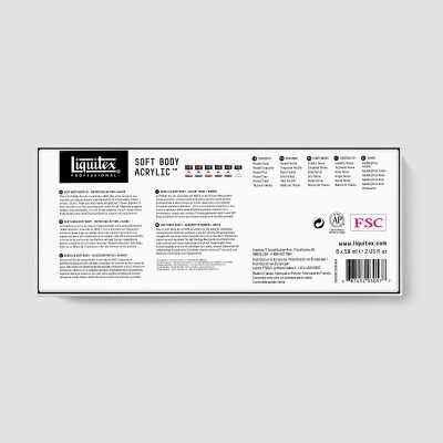 Acrilico Liquitex Soft Body - Confezione Colori Mixing