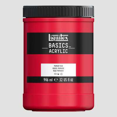 Acrilico Liquitex Basics - Colori Primari 946ml