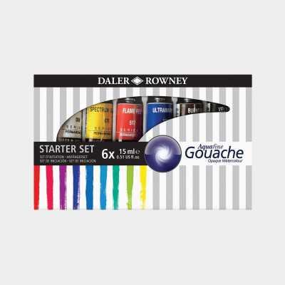 Aquafine Gouache Daler Rowney - Starter Set Tempera