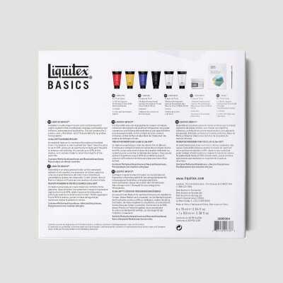 """Acrilico Basics Liquitex - Tecnica """"Bagnato su Bagnato"""""""