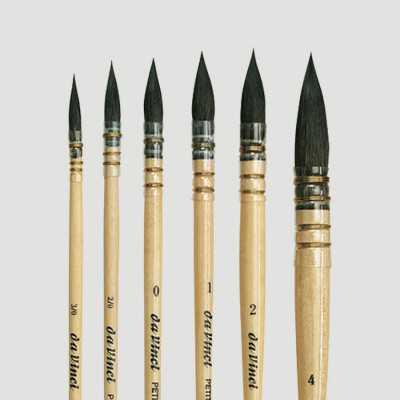Set pennelli per acquerello Da Vinci Petit Gris Pur