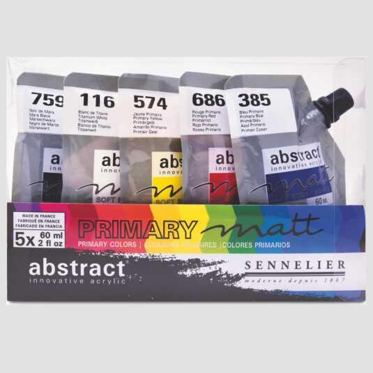 Acrilico Abstract - Set Primario Super Opaco!