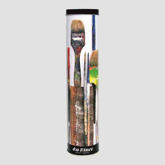 Set 10 pennelli misti per olio e acrilico College Da Vinci