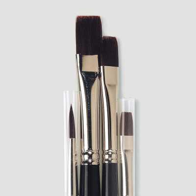 Set 4 pennelli per pittura acrilica Top Acryl Da Vinci