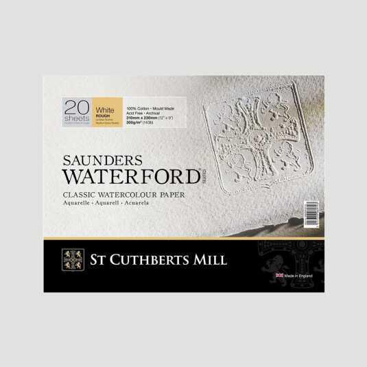 Blocco Saunders Waterford - Grana Grossa 300gr