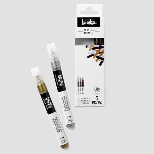 Paint Marker Fine - Set Iridescente!