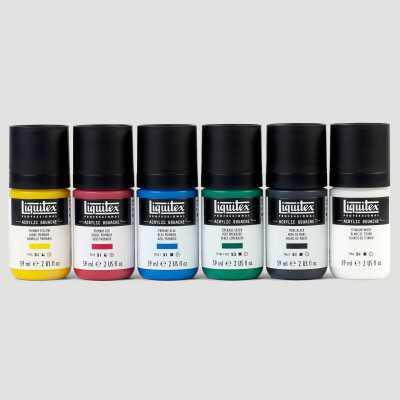 Acrylic Gouache Liquitex - Set Colori Primari