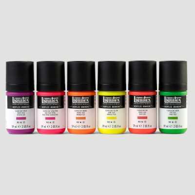 Acrylic Gouache Liquitex - Set Colori Fluorescenti