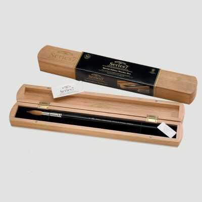 Confezione regalo Pennello Serie7 - Prestigioso Cofanetto in Quercia