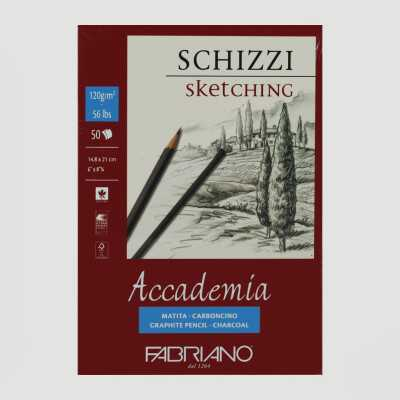 Blocco Accademia Schizzi Grana Naturale 120gr