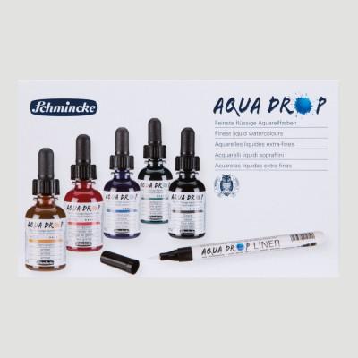 Confezione Aqua Drop con Liner - Acquerello Schmincke
