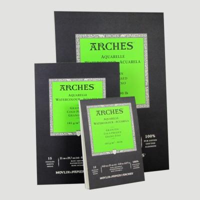 Album Arches - Grana Grossa A3, A4, A5