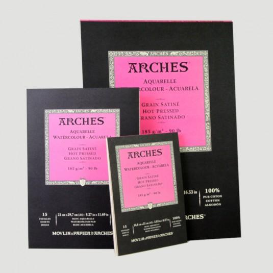 Album Arches - Grana Satinata A3, A4, A5