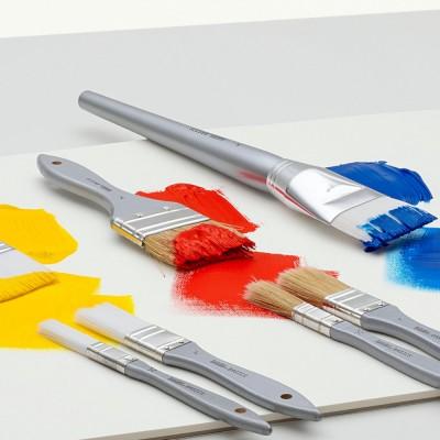 Pennelli Basics Acrylic - Sintetico Piatto