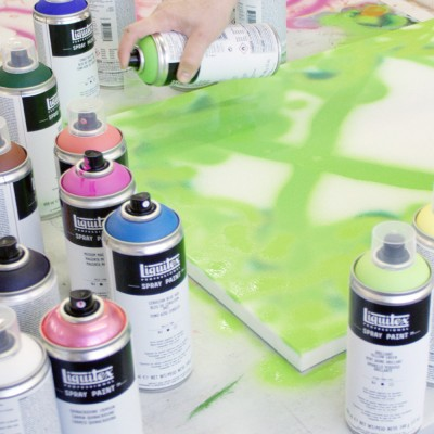 Spray Paint Liquitex