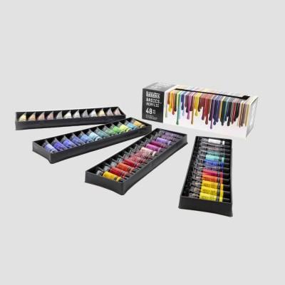 Set Acrilico Basics - Confezione 48 Colori Acrilici Liquitex