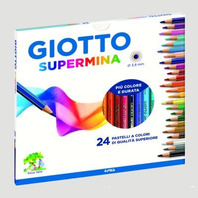 Confezione Matite Colorate - Giotto Supermina 24pz