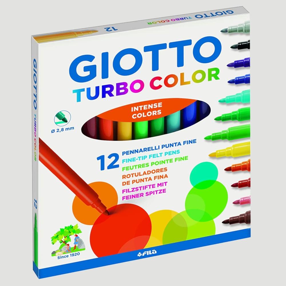 confezione da 12 Set di penne a punta fine 12 colori con punta fine colorata per pennarelli 0,4 mm