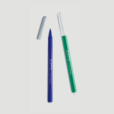 Confezione Pennarelli Punta Fine - Turbo Color Giotto 12pz