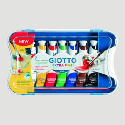 Tempera Ultrafine Giotto - Confezione 7 Colori