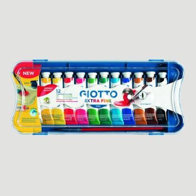 Tempera Ultrafine Giotto - Confezione 12 Colori