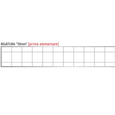 Quadernone Tinta Unita - Quadretti 10mm