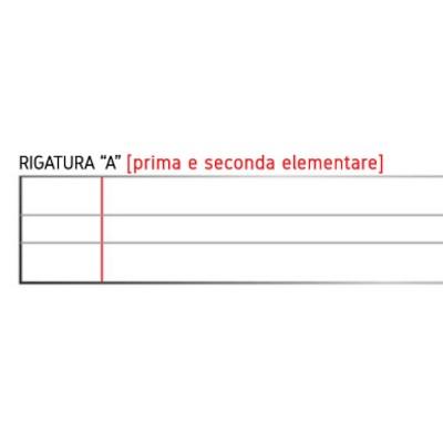 Quadernone Tinta Unita - Rigatura A