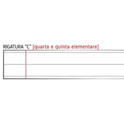 Quadernone Tinta Unita - Rigatura C