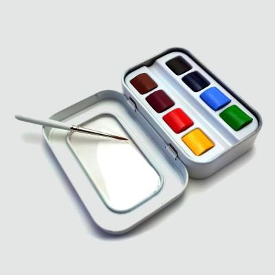 Acquerello Extrafine Sennelieri - Confezione 8 Colori