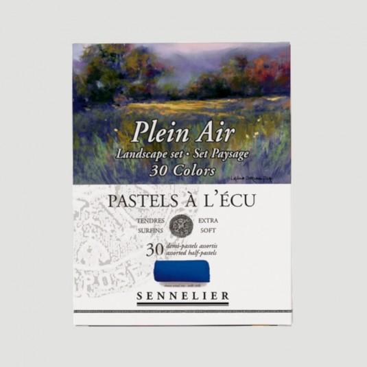 """Pastelli Secchi Morbidi - 30 Colori """"Seaside"""" Sennelier"""