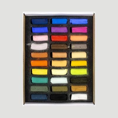 """Pastelli Secchi Morbidi - 30 Colori """"Assortiti"""" Sennelier"""