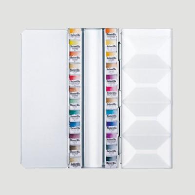 Confezione Acquerello Maimeri Blu - 24 Mezzi Godet