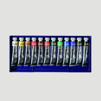 Confezione in Plastica Olio Classico - 12 Tubetti da 20ml Maimeri