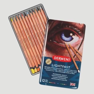 Confezione Matite Colorate - Derwent Lighfast