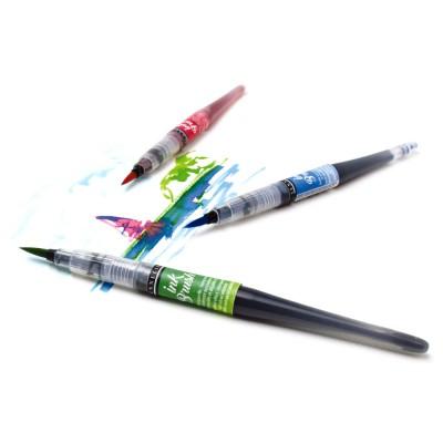 Confezione Ink Brush Sennelier - 6 Colori Classici