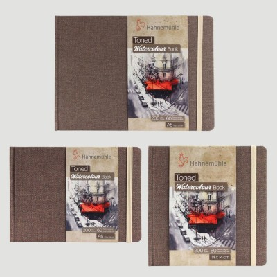 Toned Watercolour sketch book - Tonalità Beige