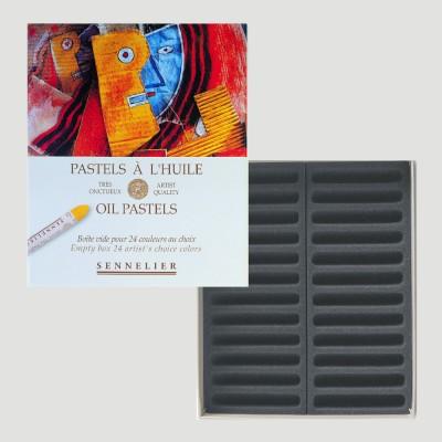 Scatola Vuota Sennelier - Imbottita per 18 Pastelli