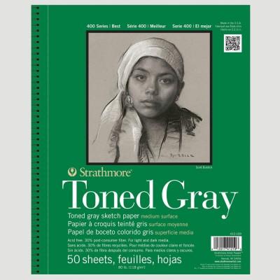 Album Disegno Toned Gray - Strathmore serie 400