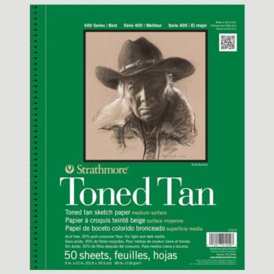 Album Disegno Toned Tan - Strathmore serie 400